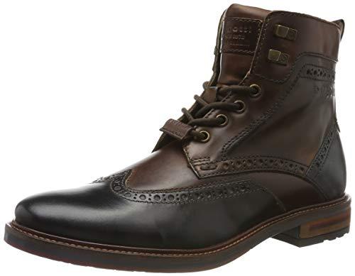 bugatti Herren 311377371111 Klassische Stiefel Kurzschaft Stiefel , Grau , 44 EU