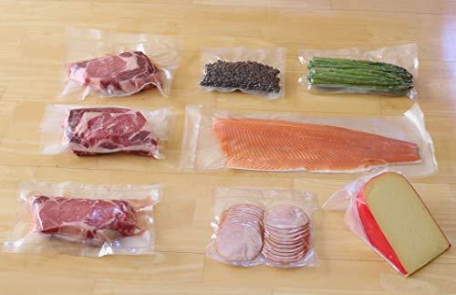 2 Pack - 11 x 50' Vacuum Sealer Rolls Food Storage Saver Commercial Grade Bag for Foodsaver and Sous Vide (total 100 feet)