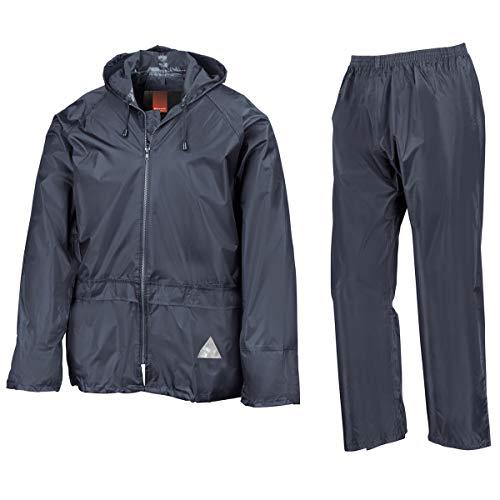Regenanzug ( Jacke und Hose), absolut wasserdicht ,navy, XL XL,Navy