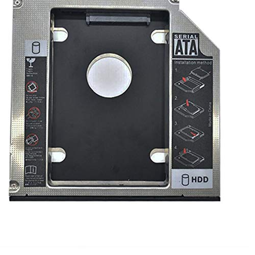 CamKpell Directo de fábrica 12.7mm sata3 Unidad de Disco óptico bit bahía de Unidad de Disco Duro Universal ssd Soporte de Unidad de Estado sólido