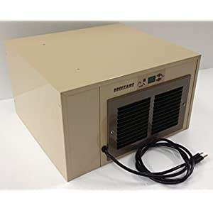 Breezaire WKCE-1060 Compact Wine Cellar Cooling Unit with Digital Temperature...