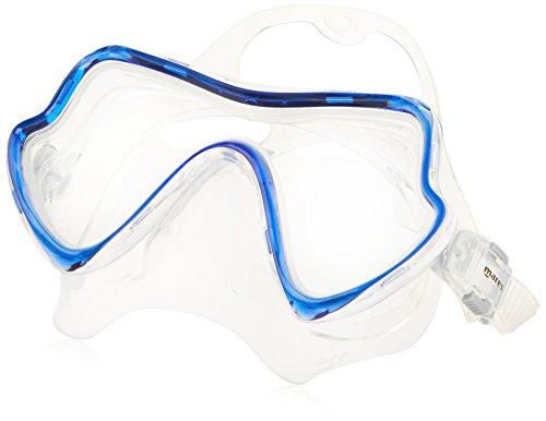 Mares Pure Vision Máscara De Buceo, Unisex Adulto, Clear Reflex Blue, One Size