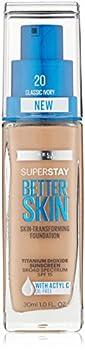 Maybelline New York Super Stay Better Skin Foundation Classic Ivory 1 fl oz.
