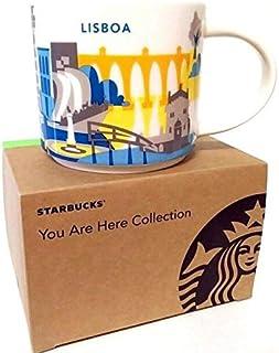 STARBUCKS スターバックス スタバ You Are Here Collection マグ Lisboa / Lisbon / リスボン 414ml - 並行輸入品