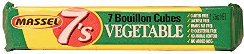 Massel 7's, Vegan Bouillon Stock Cubes - Gluten-Free, Vegetable Broth Flavour -...