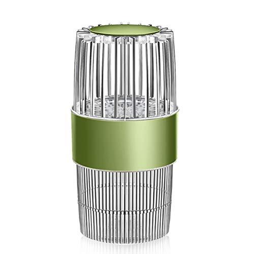 YAQIAN Repelente de mosquitos fotocatalizador USB recargable portátil Fly Killer Bug Zapper con luz UV linterna de camping portátil para acampar senderismo al aire libre interior