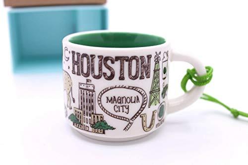 Starbucks Houston Been There Serie Espresso-Tasse Ornament Demitasse, 57 ml