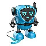 sharprepublic Cool Transforming Toys - Robot Change en Gyro para Niños, Mejor Regalo para Niñas - Azul