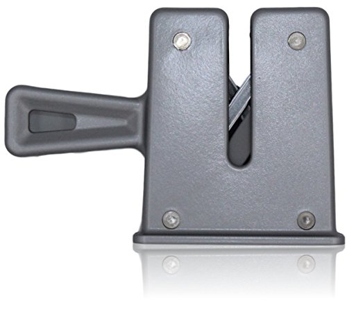 Arrotino/affilatura utensili con Chantry Sprung Osborn Technology, per uso commerciale o la cucina/professionale. Facile, ma efficace come un affilatoio/acciaino. By Taylors Eye Witness Silver
