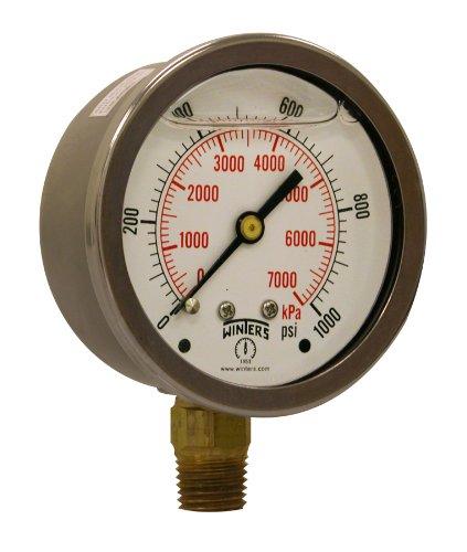 1000 psi gauge - 5