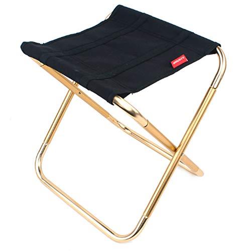 Tragbare Mini-Klapphocker zusammenklappbares Oxford Tuch Stuhl Ultra-Light Stabiler Campinghocker mit Tragetasche für Wandern Angeln Reise im Freien