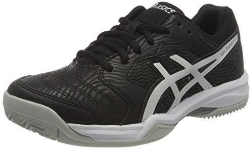 Asics Gel-Dedicate 6 Clay, Tennis Shoe Mujer, Black/White, 39 EU