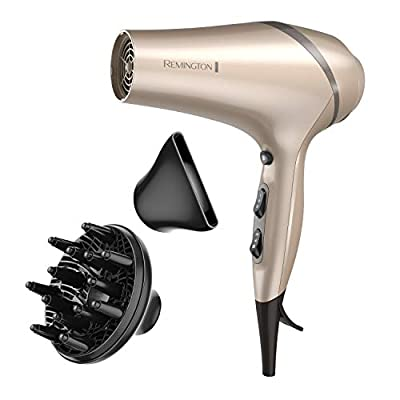 Remington Hair Dryer With Color Care Technology, Champagne/gray, 1 Pound
