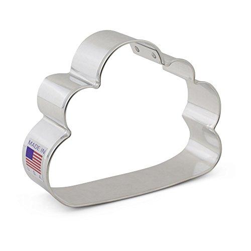 Ann Clark Cookie Cutters Cloud Cookie Cutter, 3.75'
