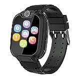 smartwatch per bambini con 7 giochi - musica mp3 orologio intelligente bambini con telefono camera scheda sd recorder sveglia, regali per ragazzi ragazze