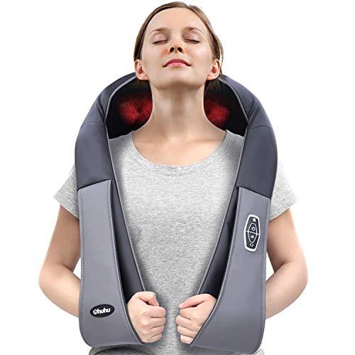 Ohuhu Neck Shoulder Massager with Heat