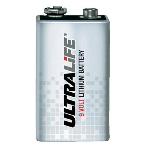 10 Stück Ultralife 9V Block Lithium Batery - Die Neue Ultralife Type U9VL-J-P !!!