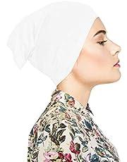 TheHijabStore.com المرأة تمتد تحت وشاح مريح قبعة جيرسي لتغطية الرأس - قبعة أنبوب تفتح على طرفي
