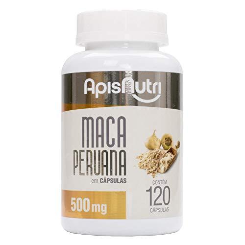 MacA Peruana 500 Mg (120 Caps), Apisnutri