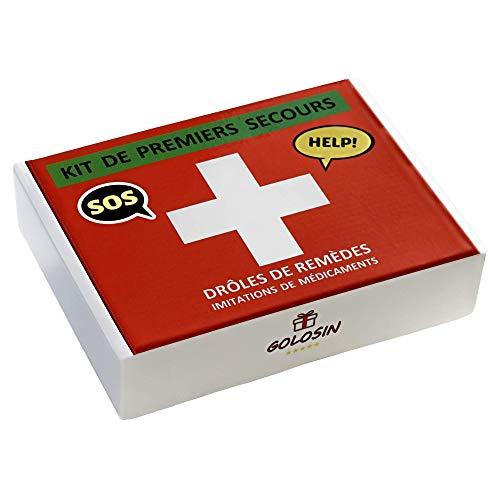 Cadeau original. Imitation de médicaments et remèdes drôles. Contient des bonbons.