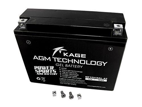 GEL Batterie KAGE YB16AL-A2 16AH für Ducati Yamaha
