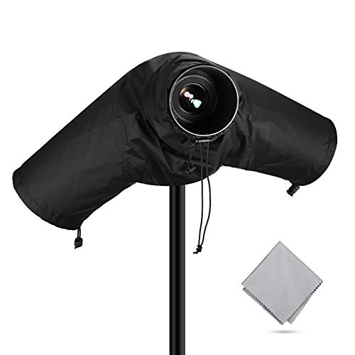 Powerextra Professional Waterproof Camera Rain Cover Protector for Canon Nikon Sony Pentax and Other...