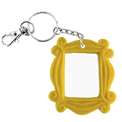 Friends TV Show Keychain Friends Frame Monica Peephole Handmade w/Clawhook