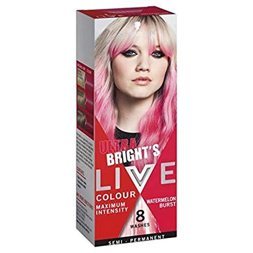 Schwarzkopf LIVE Colour Semi Permanent Hair Colour Ultra Brights Watermelon Burst 25ml