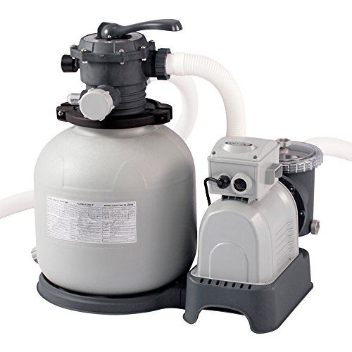 Intex Krystal Clear Sand Filter Pump - Poolreinigung - Sandfilteranlage - 12 m³ - 220-240V