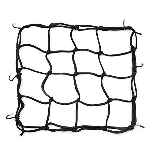 sourcing map 6 Maintenir crochet Sandow Filet Moto noir 30 x 30cm filet