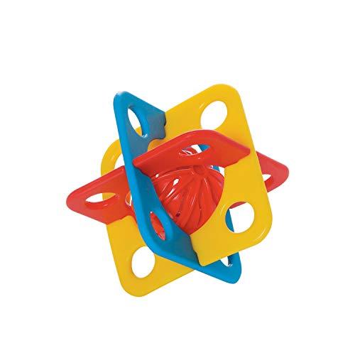 Manhattan Toy Jouet bébé Silicube Dentition Silicone, 216270, Multicolore