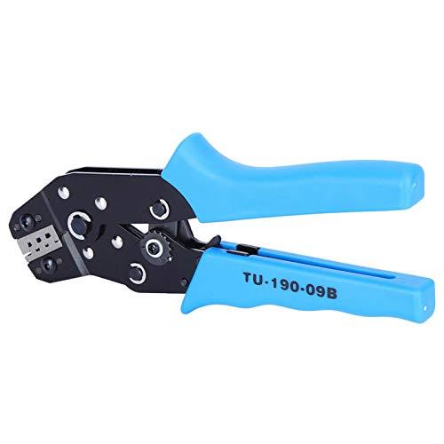 Anti-Corrosión Corte Trinquete Crimper Crimping Tool Terminal Alicates de trinquete Manual Multi-función High End par(TU-190-09B)