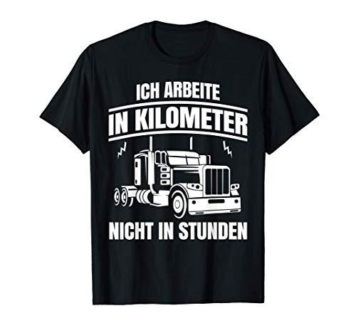 LKW Tshirt Lastwagenfahrer Trucker Fernfahrer Spedition T-Shirt