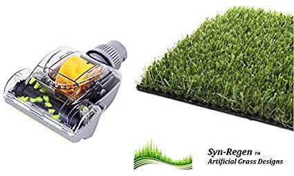 Lazy césped aspiradora Cabeza Attachment Universal Fit Astro Turf Hoover Static Bristles Limpia Fake Turf 3G 4G Grass Repair s re-Genera césped jardín césped Hoover Attachment Head: Amazon.es: Jardín