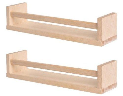 Ikea Bekvam GARDEN / OUTDOOR -Estantería/organizador de madera de abedul para especias (2unidades), ideal para el jardín, césped