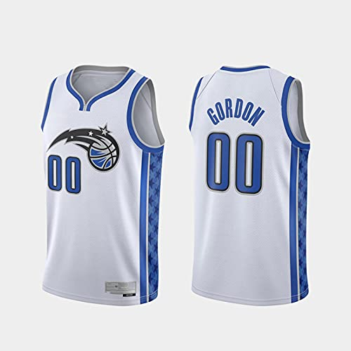 TGSCX Jerseys de Baloncesto de los Hombres, NBA Orlando Magic # 00 Aaron Gordon Classic Jersey, Retro Fresco Tela Transpirable All-Star Unisex Fan Uniforms,L