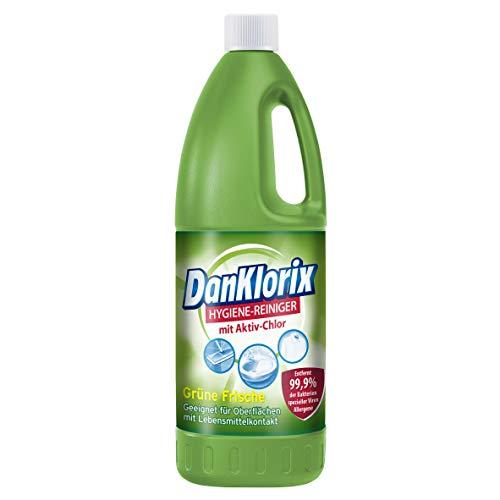 DanKlorix Grüne Frische Hygiene-Reiniger mit Chlor, 1,5 l