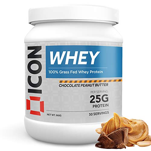 ICON Nutrition Whey Protein Powder 960g, 30 Servings - Chocolate Peanut Butter