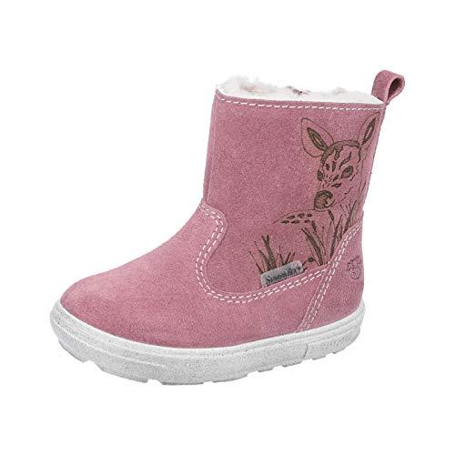 RICOSTA Kinder Winterstiefel Cosi von Pepino, Weite: Mittel (WMS),wasserfest, Winter-Boots Outdoor-Kinderschuhe gefüttert,Sucre,24 EU / 7 Child UK
