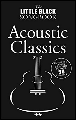 Little Black Songbook Acoustic Classics.
