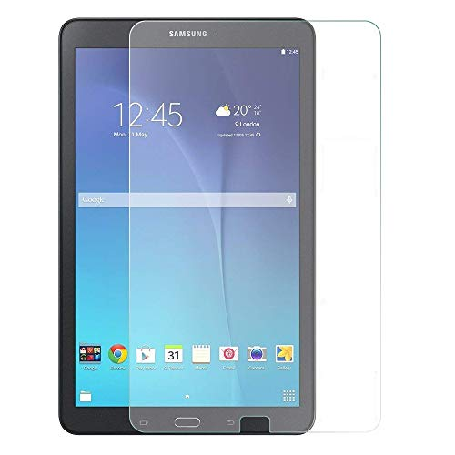 Galaxy tab E 9.6 Screen Protector - for Samsung Galaxy tab E 9.6 inch Tablet (SM-T560) - Maximum Screen Protection from Bumps/Drops/Scrapes and Marks (Galaxy Tab E 9.6, Tempered Glass)