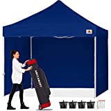 ABCCANOPY Canopy 10x10 Pop Up Commercial Canopy Tent with Side Walls Instant Shade, Bonus Upgrade...