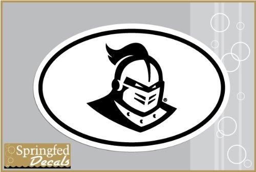 UCF Knights KNIGHTRO Helmet Euro Style Vinyl Decal #2 Central Florida Car Truck Sticker