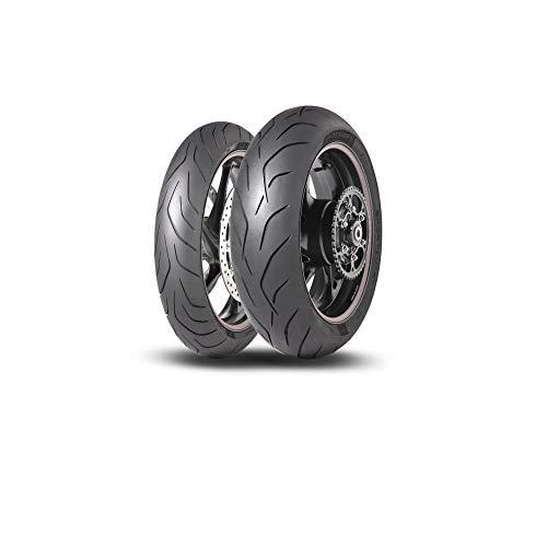 Dunlop 22698 Neumático 180/60 ZR17 75W, Sportsmart Mk3 para Moto, Verano