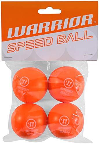 Warrior Mini Speed Hockey Ball 4er Pack