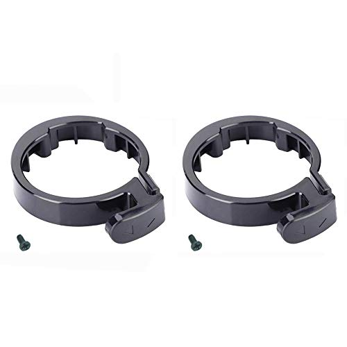 PQZATX Roller Vorderrohr Vorbau Faltschachtel Versicherung Kreis Umklammert Schutzring Ersatzteil für Mijia M365 Elektroroller, Zwei S?TZE