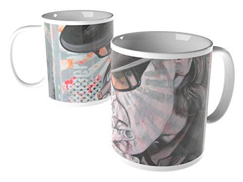 weewado Diedel Heidemann - 80`s Icons - Mr. Lindenberg - Uns UDO - 8x9.7 cm - Tasse - Kunst, Gemälde, Foto, Tasse mit Bild - Menschen