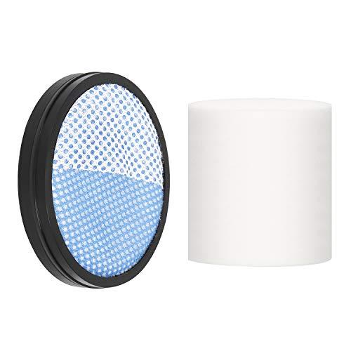 APOSEN Cordless Vacuum Cleaner HEPA (1HEPA+1 White Cylindrical Sponge)