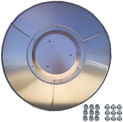 Maxk Patio calentador escudo aleación de aluminio quemador de aleación de paraguas lámpara de calor lámpara de calor de gas licuado de gas natural estufa de gas natural de estufa de escudo de reemplaz