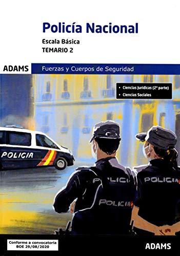 Temario 2 Policía Nacional. Escala Básica (Temarios 1 y 2 Policía Nacional. Escala Básica (obra completa))